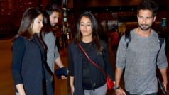 Shahid Kapoor walking hand-in-hand with pregnant Mira Rajput!