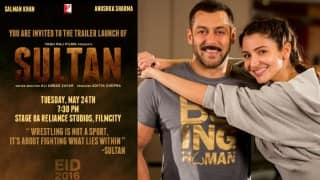 Sultan trailer: Haryanvi wrestlers Salman Khan & Anushka Sharma are all set to unveil the theatrical trailer next week