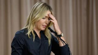 Maria Sharapova to hit peak by October after her comeback: Russian tennis chief