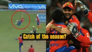 KKR vs GL, IPL 2016: Watch high-flying Suresh Raina take perhaps the catch of the season