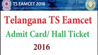 Telangana EAMCET 2016: Exams to be held on May 15, download your hall tickets from here