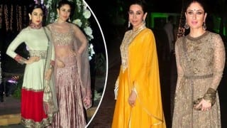 These pictures of Kareena Kapoor & Karisma Kapoor in ethnic wear will compel you to revamp your wardrobe!