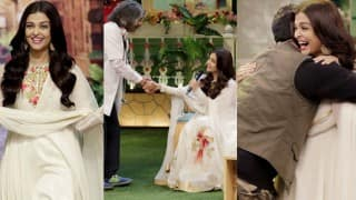 The Kapil Sharma Show: Aishwarya Rai Bachchan and Randeep Hooda have a blast while promoting 'Sarbjit' on the show!