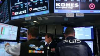 US stocks decline despite upbeat data