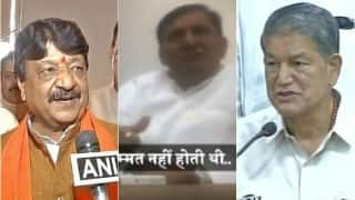 Uttarakhand crisis: Another sting video against Harish Rawat released, rebel Congress MLA Madan Bisht was offered bribe (Watch)