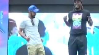 Video: Virat Kohli, Chris Gayle dance for fans in Bengaluru