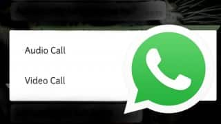 WhatsApp Messenger hints to new feature. Users will be able to make video call soon