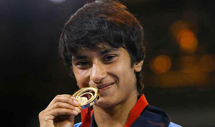 File picture of Vinesh Phogat.