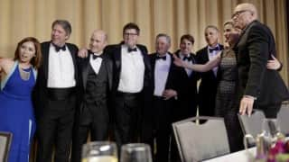 White House Correspondents' dinner: Huffington Post, Fox News scribes engage in scuffle