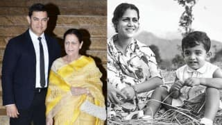 How Sweet! Find out what Aamir Khan did on Mother's Day for his mom Zeenat Hussain