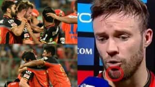 IPL 2016 Playoffs: Here is why Yuzvendra Chahal apologised to AB de Villiers after RCB's win over Gujarat Lions