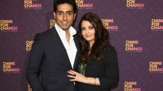Romance on Twitter for Aishwarya Rai Bachchan and Abhishekh Bachchan