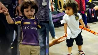 This video of Shah Rukh Khan's son AbRam fighting with Parineeti Chopra cannot be missed!