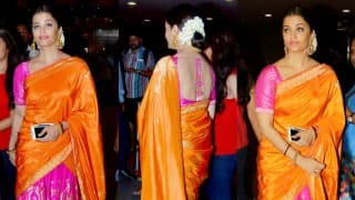 Sarbjit: Aishwarya Rai Bachchan spotted in traditional avatar at Airport!