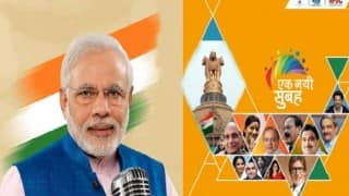 Live Updates of 'Zara Muskura Do', 'Ek Nayi Subah' event celebrating Narendra Modi govt's 2 years in power: 'Those who looted Rs 36,000 cr will disapprove me', says PM