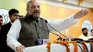 SP main rival in UP polls, not decided on CM face: Amit Shah