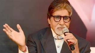Amitabh Bachchan to host segment on girl child campaign at NDA's 2nd anniversary event