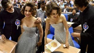'Controversial' pictures of Amitabh Bachchan and Kangana Ranaut from 63rd National Film Awards go viral on WhatsApp, circulated by sick mind