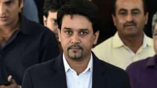 Anurag Thakur promises Rs 5 crore for deaf cricketers