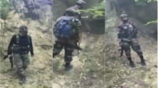 Encounter in Kashmir: Indian army jawan injured in gunbattle with militants