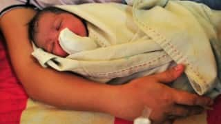 72-year-old woman delivers baby boy through IVF