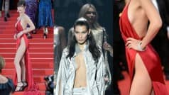 Shocking: Bella Hadid wardrobe malfunction in revealing outfits at Cannes 2016 and amfAR Cinema Against AIDS 23 (Video)