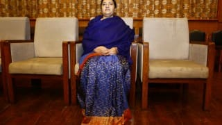 Nepal President Bidhya Devi Bhandari presents government policies for upcoming fiscal year