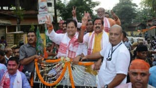Assam Assembly Election Results 2016: BJP sweeps hitherto traditional Congress bastion