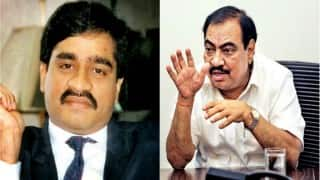 'From where did Aam Aadmi Party get Dawood Ibrahim's number?' asks Maharashtra Minister Eknath Khadse