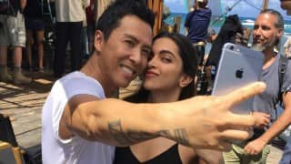 Deepika Padukone's special gift for xXx: The Return Of The Xander Cage actor Donnie Yen!