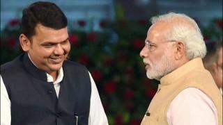 Maharashtra Chief Minister Devendra Fadnavis meets PM Modi on NEET issue