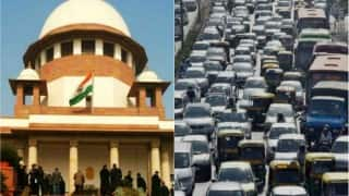 No new diesel taxis to be registered in Delhi, existing cabs can continue to ply: Supreme Court