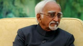 Hamid Ansari ticks off members for disrupting question hour
