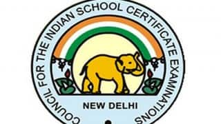 ICSE, ICS exam schedule 2017 announced: Check time table of Class 10 and 12