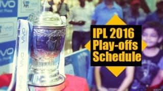 IPL 2016 Playoffs Schedule: Complete time table with venue details of IPL 9 playoffs