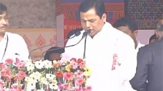 LIVE: Sarbananda Sonowal takes oath as Chief Minister of Assam, PM Modi, Amit Shah in attendance