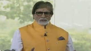 Amitabh Bachchan hosts 'Beti Bachao, Beti Padhao' segment at 'Ek Nayi Subah' event celebrating Modi govt's 2 years in power