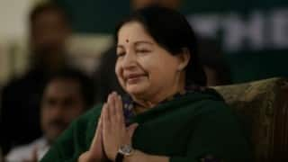 Jayalalithaa thanks Amit Shah, L K Advani for congratulating her
