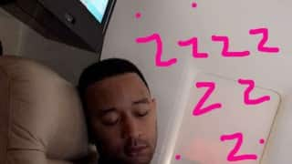 Awww! Chrissy Teigen shared cutest image of John Legend and daughter Luna napping together (See Pic)