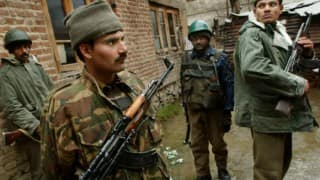 Jammu and Kashmir: Fierce gunbattle underway at Baramulla, 2 Hizbul Mujahideen terrorists holed up