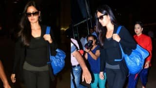 When Katrina Kaif lashed out at the shutterbugs gathered at the airport (Watch Video)