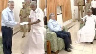 Oommen Chandy submits resignation, says Congress will return to power