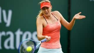Suspended Maria Sharapova named on Russian Olympic team