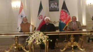 Narendra Modi visit to Iran: India, Iran & Afghanistan sign historic land-transit-trade pact