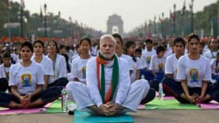 International Yoga Day 2017: Photos from Lucknow, Delhi and other states