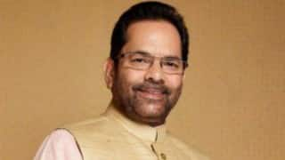 Missing documents anti-national activity: Mukhtar Abbas Naqvi