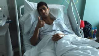 Ashish Nehra undergoes successful knee surgery