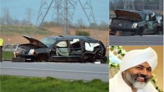 Nirankari Baba Hardev Singh death: The spiritual leader was not wearing seat belt, says Canadian police