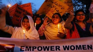 Pakistani activists hit back as Council for Islamic Ideology say men can 'lightly' beat their wives
