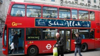 Subhan Allah banners to appear on British buses for Ramadan